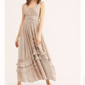 Free People Santa Maria Maxi Boho Dress NWT M
